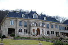 Zustand-Landsitz-Haus Stockfoto