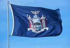 Zustand-Markierungsfahne von New York Lizenzfreies Stockbild