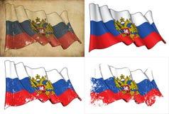 Zustand-Markierungsfahne von Russland lizenzfreie abbildung