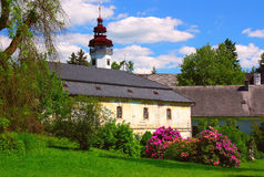 Zustand-Renaissance-Chateau Lizenzfreie Stockfotografie