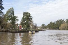 Zustand Tigre Buenos Aires/Argentinien 06/17/2014  stockbild