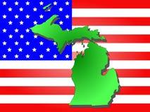 Zustand von Michigan Lizenzfreie Stockfotos