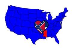 Zustand von Mississippi Stockfoto