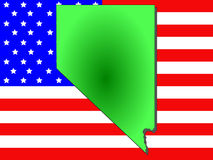 Zustand von Nevada Lizenzfreies Stockfoto