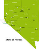 Zustand von Nevada Stockfotos