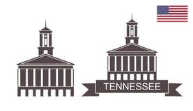 Zustand von Tennessee Tennessee State Capitol, Nashville Lizenzfreies Stockbild