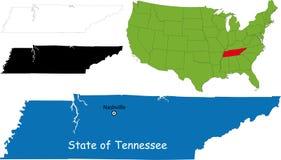 Zustand von Tennessee, USA Lizenzfreies Stockbild