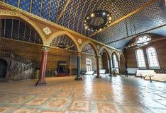 Zustands-allgemeiner Raum im Chateau Blois Lizenzfreies Stockfoto