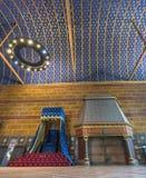 Zustands-allgemeiner Raum im Chateau Blois Stockfoto