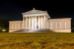 Zustands-Antikensammlungen nachts Stockfoto