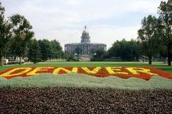 Zustands-Kapitol, Denver Stockfotos