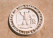 Zustands-Kapitol des New Mexiko, Santa Fe Stockbild