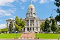 Zustands-Kapitol von Colorado, Denver Lizenzfreie Stockfotografie