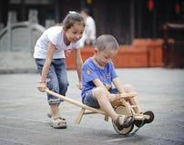 Zuster en broer Royalty-vrije Stock Fotografie