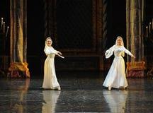 Zusters de bloem-prins van bar het mitzvah-derde handeling-ballet Zwaanmeer royalty-vrije stock foto