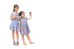 2 zusters op witte achtergrond Stock Fotografie