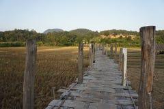 Zutongpae-Brücke Lizenzfreie Stockfotos