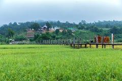 Zutongpae Bridge Royalty Free Stock Images