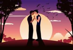 Zutreffende homosexuelle Liebe stockfotografie