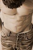 Zuur gewassen jeans royalty-vrije stock fotografie