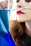 Zuurstofbar stock afbeelding