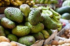Zuurzakfruit op Aziatische markt, Filippijnen Royalty-vrije Stock Fotografie