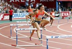 Zuzana Hejnova Areva meeting at the Stade de France Royalty Free Stock Photo