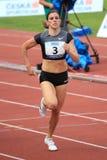 Zuzana Hejnova - obstacles de 400 mètres Photographie stock libre de droits