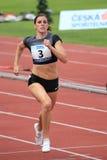 Zuzana Hejnova - race in Prague 2012 Stock Image