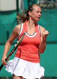 Zuzana KUCOVA (SVK) at Roland Garros 2010 Stock Photos