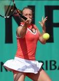 Zuzana KUCOVA (SVK) at Roland Garros 2010 Stock Photography
