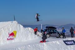 Zuzanna Witych, esquiador polonês Fotografia de Stock