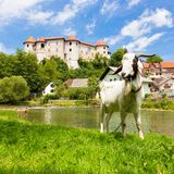 Zuzemberk Castle, Slovenian tourist destination. Stock Photos