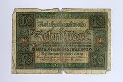Zvanzig-Kennzeichen Lizenzfreie Stockbilder