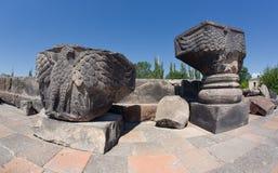 Zvartnots temple Royalty Free Stock Image