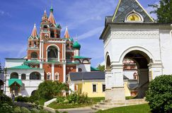 Zvenigorod monastery Stock Photos
