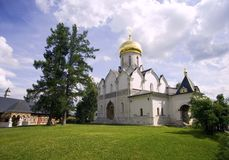 Zvenigorod monastery Royalty Free Stock Photography