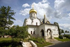 Zvenigorod monastery Stock Photo