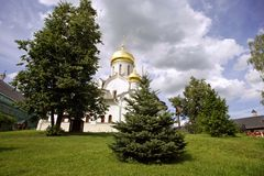 Zvenigorod monastery Stock Images
