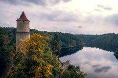Zvikov-Schloss Lizenzfreie Stockbilder