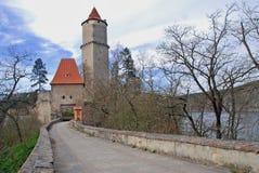 Zvikov Schloss stockfoto