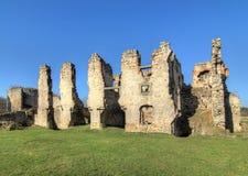 Zviretice城堡废墟  图库摄影