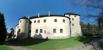 Zvolen castle. In the central part of Slovakia royalty free stock images