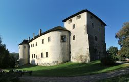 Zvolen castle. In the central part of Slovakia royalty free stock image