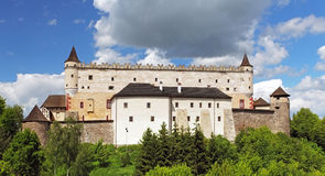 Zvolen castle, Slovakia. Zvolen castle, Slovakia at day royalty free stock photography