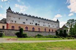 Zvolen castle, Slovakia. stock photos