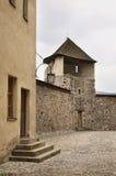 Zvolen castle in Zvolen town. Slovakia royalty free stock photo