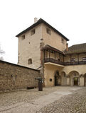 Zvolen castle in Zvolen town. Slovakia stock photo