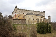 Zvolen castle in Zvolen town. Slovakia Stock Photos