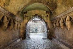 Zvolen, Eslovaquia 6 DE AGOSTO DE 2015 Zamok de Zvolensky del castillo de Zvolen fotos de archivo libres de regalías
